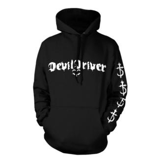Moška jopa s kapuco Devildriver - Logo Careless Črna - NNM, NNM, Devildriver