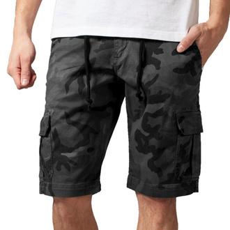Moške kratke hlače URBAN CLASSICS - Camo Cargo - siva camo, URBAN CLASSICS