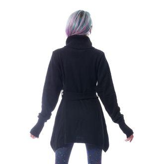 Ženski pulover POIZEN INDUSTRIES - KORZANA - ČRNA, POIZEN INDUSTRIES
