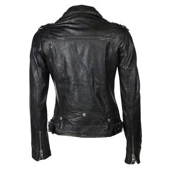 Ženska jakna (metal jakna) G2GPunk LAFOV - black, NNM