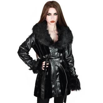 Ženski plašč KILLSTAR - Krystina Faux-Fur, KILLSTAR