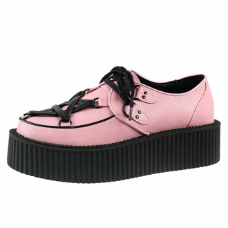 ženski čevlji KILLSTAR - Hexellent Creepers - Pastel Pink, KILLSTAR