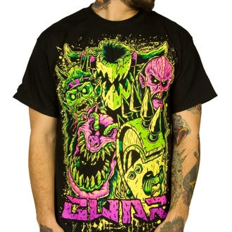 Moška metal majica Gwar - Faces - INDIEMERCH, INDIEMERCH, Gwar