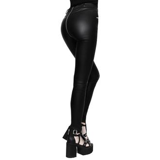 Ženske hlače KILLSTAR - Larissa Coated, KILLSTAR