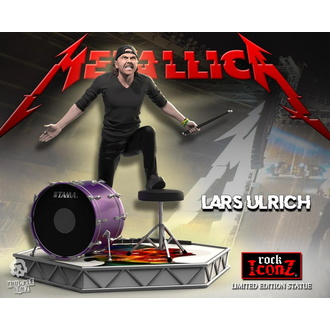 Figura Metallica - Lars Ulrich - Limited Edition - KNUCKLEBONZ, KNUCKLEBONZ, Metallica