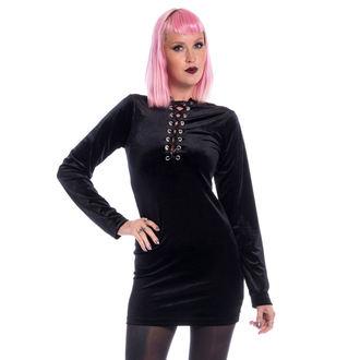 Ženska obleka CHEMICAL BLACK - LEAH - ČRNA, CHEMICAL BLACK