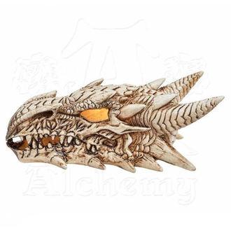 Dekoracija ALCHEMY GOTHIC - LED Dragon Skull, ALCHEMY GOTHIC