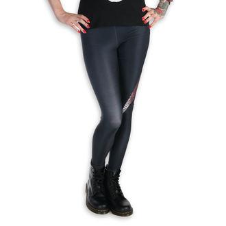 Ženske oprijete hlače (leggings) PAMELA MANN - Metallica - Death Magnet MET1006 - 'M' - Črno / rjav, PAMELA MANN, Metallica