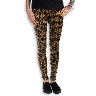hlače ženske (gleženj) Burlesque - Leopard, NNM