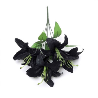 Dekoracija ALCHEMY GOTHIC - Black Lily, ALCHEMY GOTHIC