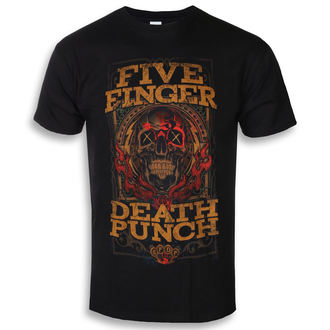 Moška metal majica Five Finger Death Punch - Wanted - ROCK OFF, ROCK OFF, Five Finger Death Punch