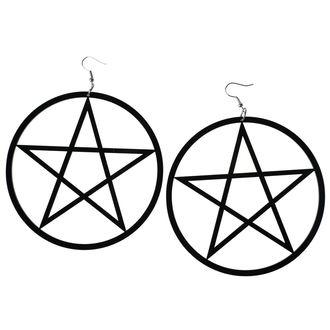 Uhani Luciferothica - Huge Pentagram, LUCIFEROTHICA