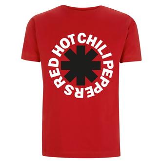 Moška majica Red Hot Chili Peppers - Classic B&W Asterisk - rdeča, NNM, Red Hot Chili Peppers