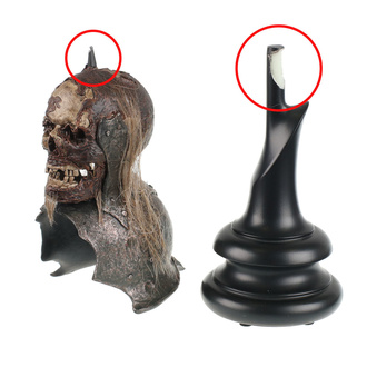 figurica Lord of the Rings - Lord of the Rings Replica Skull Trophy Helm of the Orc Lieutenant - WETA860402116 - POŠKODOVANO, NNM, Lord Of The Rings