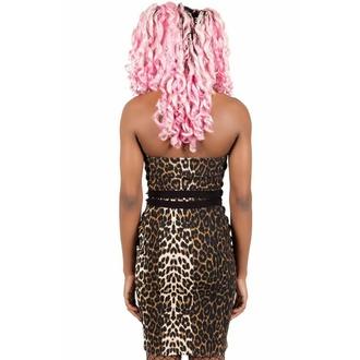 Ženska obleka KILLSTAR - Man Eater Midi - LEO, KILLSTAR