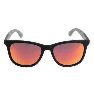 Sončna očala MEATFLY - CLUTCH A 4/17/55 - ČRNA / SIVA, MEATFLY