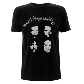 Moška majica Metallica - 4 Faces - Črna, NNM, Metallica