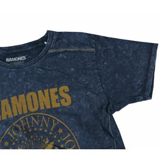 Moška majica Ramones - Presidential Morel Snow Wash - NAVY - ROCK OFF, ROCK OFF, Ramones