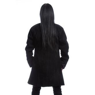 Moški plašč POIZEN INDUSTRIES - MONARCH X - ČRNI ŽAMET, POIZEN INDUSTRIES