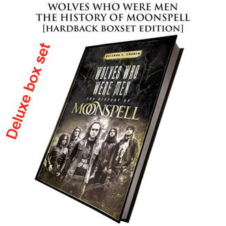Knjiga (darilni set) Moonspell - Wolves Who Were Men (Podpisana deluxe trda vezava boxset), CULT NEVER DIE, Moonspell