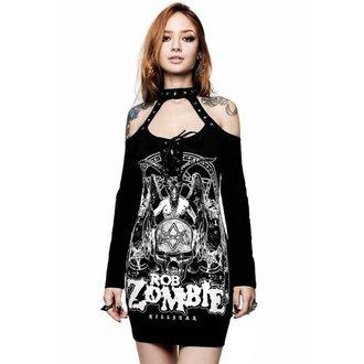 Ženska obleka KILLSTAR - ROB ZOMBIE - Triumph - ČRNA, KILLSTAR, Rob Zombie