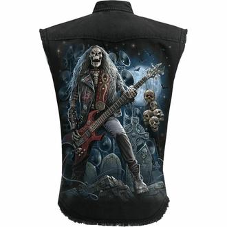 Moška srajca brez rokavov (telovnik) SPIRAL - GRIM ROCKER - Črna, SPIRAL