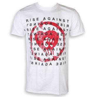 Moška majica Rise Against - Block - Bela - KINGS ROAD, KINGS ROAD, Rise Against