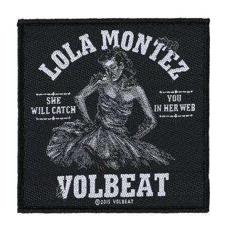 Našitek VOLBEAT - LOLA MONTEZ - RAZAMATAZ, RAZAMATAZ, Volbeat
