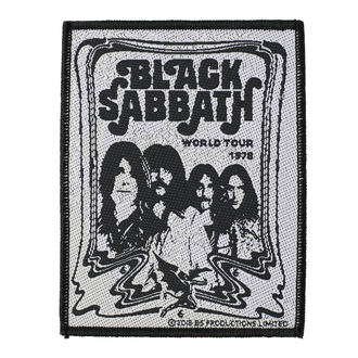 Našitek BLACK SABBATH - BAND - RAZAMATAZ, RAZAMATAZ, Black Sabbath