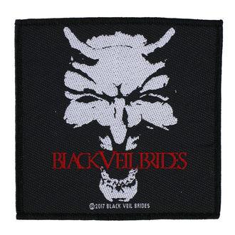 Našitek BLACK VEIL BRIDES - DEVIL - RAZAMATAZ, RAZAMATAZ, Black Veil Brides
