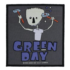 Našitek GREEN DAY - HAMMER FACE - RAZAMATAZ, RAZAMATAZ, Green Day