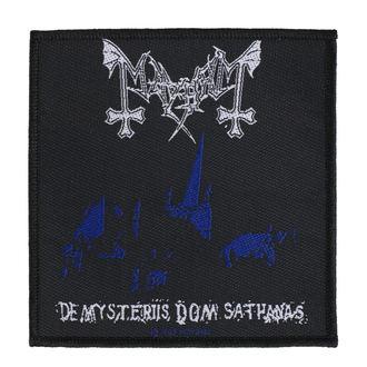 Našitek Mayhem - De Mysteriis Dom Sathanas - RAZAMATAZ, RAZAMATAZ, Mayhem
