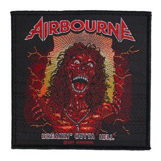 Našitek Airbourne - Breakin Outa Hell - RAZAMATAZ, RAZAMATAZ, Airbourne