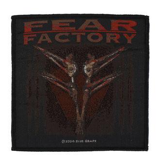 Našitek Fear Factory - Archetype - RAZAMATAZ, RAZAMATAZ, Fear Factory