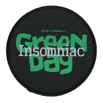 Našitek Green Day - Insomniac - RAZAMATAZ, RAZAMATAZ, Green Day