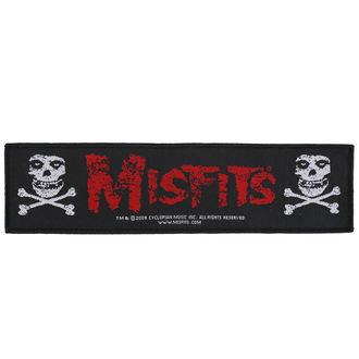 Našitek Misfits - Crossbones - RAZAMATAZ, RAZAMATAZ, Misfits