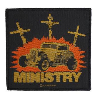 Našitek Ministry - Jesus Built My Hotrod - RAZAMATAZ, RAZAMATAZ, Ministry