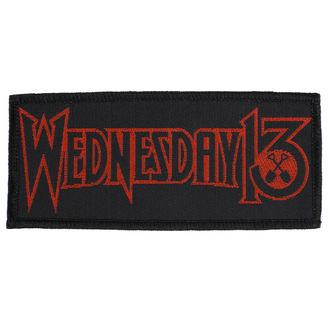Našitek Wednesday 13 - Logo - RAZAMATAZ, RAZAMATAZ, Wednesday 13