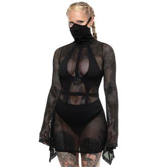 Ženska obleka KILLSTAR - Neo Nyx Mask - Črna, KILLSTAR