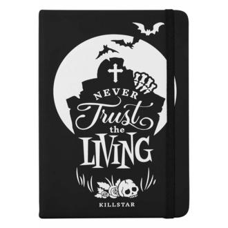 Beležnica KILLSTAR - Never Trust The Living - Črna, KILLSTAR