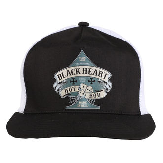 Kapa BLACK HEART - BELL - Bela, BLACK HEART
