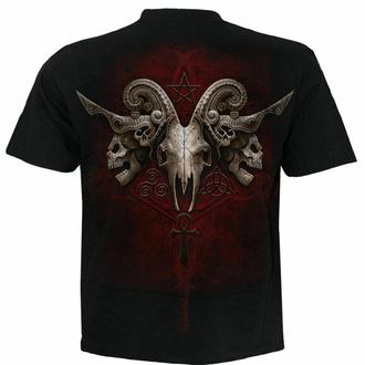 Moška majica Spiral - FACES OF GOTH - Črna, SPIRAL