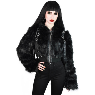 Ženska jakna KILLSTAR - Night Creature Faux-Fur, KILLSTAR