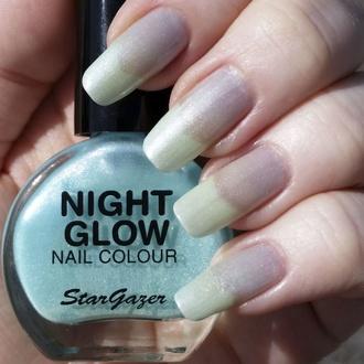 Lak za nohte STAR GAZER - Glow In The Dark - Glow Jade, STAR GAZER