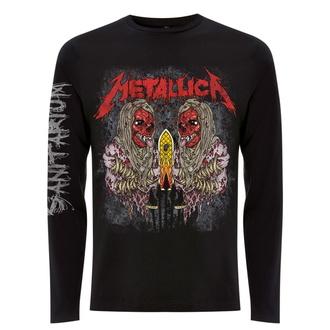 Moška majica z dolgimi rokavi Metallica - Sanitarium - Črna, NNM, Metallica