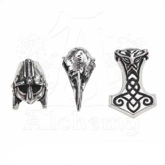 Okrasne kroglice za lase / brado ALCHEMY GOTHIC - Norsebraid, ALCHEMY GOTHIC