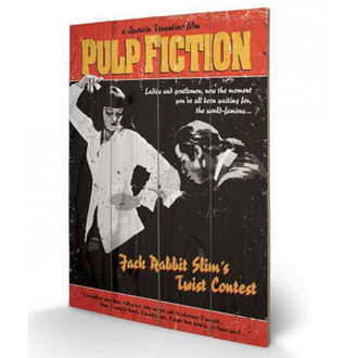 Lesena slika Pulp Fiction - (Twist Contest) - PYRAMID POSTERS, PYRAMID POSTERS, Pulp Fiction