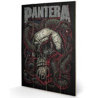 Lesena slika Pantera - (&&string0&&) - PYRAMID POSTERS, PYRAMID POSTERS, Pantera