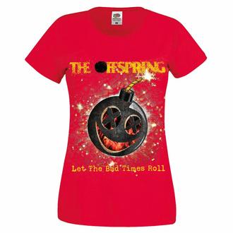 Ženska majica Offspring - Hot Sauce Bad Times - rdeča, NNM, Offspring