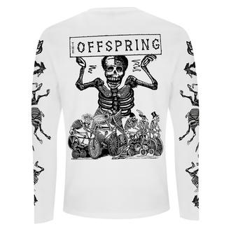 Moška majica z dolgimi rokavi Offspring - Skeletons - Bela, NNM, Offspring